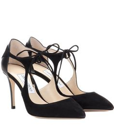 Jimmy Choo Vanessa 85 Suede Pumps For Spring-Summer 2017