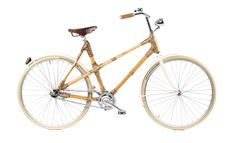 Bike made entirely of Bamboo! By Black Star Bikes. via The Cools