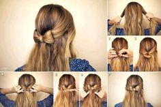 10 Truques para um cabelo bonito, confira várias dicas e tutoriais de penteados para você arrasar! Penteados para festa e para o seu dia a dia! Confira!