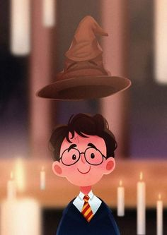 Harry was sorted into Gryffindor 20 years ago! Harry was sorted into Gryffindor 20 years ago! Harry Potter Tumblr, Harry James Potter, Harry Potter Anime, Harry Potter Fandom, Harry Potter Characters, Harry Potter World, Harry Potter Memes, Pintura Do Harry Potter, Harry Potter Painting