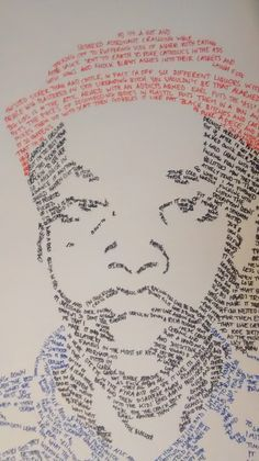 Earl Sweatshirt made from his lyrics Earl Sweatshirt, Salon Art, Odd Future, Fingerprints, Hiphop, Inspire Me, Lyrics, Faces, My Favorite Things