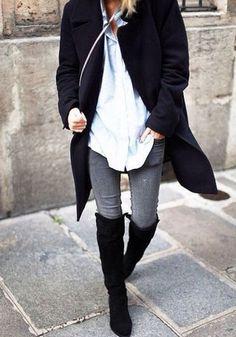 Trend: Overknee laarzen
