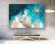 Large Original Abstract Painting On Canvas Contemporary Wall Art Extra Large Wall Art,Abstract on Canvas,Original Paintings Modern Large Wall Canvas, Extra Large Wall Art, Canvas Art Prints, Canvas Wall Art, Large Canvas Ideas, Contemporary Abstract Art, Abstract Wall Art, Contemporary Interior, Contemporary Stairs
