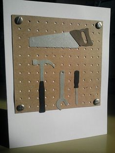 Father's Day Tools Card