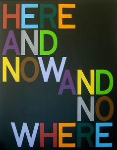 Tauba Auerbach,Here and Now/And Nowhere