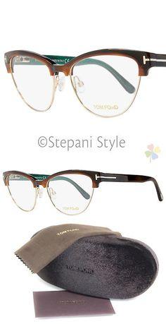 e1e988fca Eyeglass Frames: Tom Ford Cateye Eyeglasses Tf5365 052 Size: 54Mm Havana  Gold Ft5365 -> BUY IT NOW ONLY: $129 on eBay!