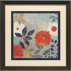 North American Art Botanical Garden I by Aimee Wilson Framed Painting Print