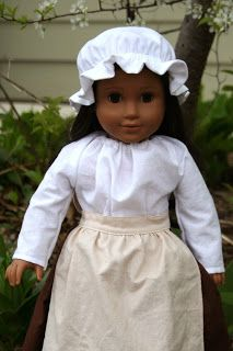 Colonial Shirt for American Girl Doll