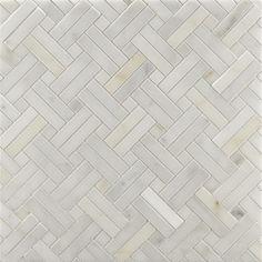 - calacatta borghini diagonal weave mosaic in honed finish ( at ann sacks) Bathroom Floor Tiles, Shower Floor, Tile Floor, Mosaic Floors, Shower Walls, Basket Weave Tile, Basket Weaving, 3d Texture, Tiles Texture