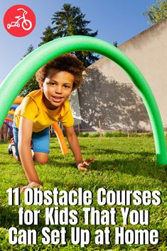 From a glow-in-the-dark adventure to a backyard obstacle course that's got all the bells and whistles, we've found the most awesome DIY obstacle course for kids. Backyard Obstacle Course, Kids Obstacle Course, Backyard Games, Backyard Ideas, Fun Indoor Activities, Fun Activities For Kids, Family Activities, Summer Fun List, Summer Kids