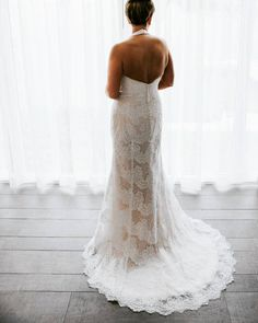 Sneak peek coming soon from Addie and Brandon's wedding at @amaracayresort.  How about this #stunning halter top by Galina Signature!  #sayyestothedress #destinationwedding #keywestphotographer #alexandersilver2016