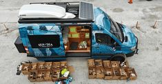 Sprinter Van Life Interview with Artist Skye Walker - Bearfoot Theory Gallery Ideas] . T3 Camper, Sprinter Camper, Camper Life, Mercedes Sprinter, Chevy Conversion Van, Sprinter Van Conversion, Audi Rs6, Ambulance, Jaguar