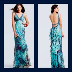 This one right here is most likely going to be the dress I'll be wearing to my prom in a few months:)) it's by Faviana