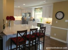 Green With Decor: 5 must haves in a kitchen renovation