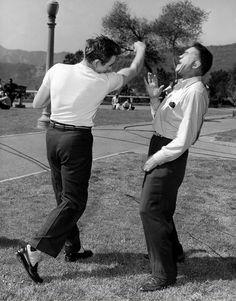James Dean & Mushy Callahan