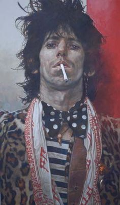 Keith Richards  ..........can't believe he is still alive.