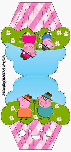 Peppa Pig at the Farm:  Free Printable Invitations.