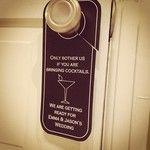 I am hand cutting wedding door hangers for a very special bride Emma.  Made by wright4design sold on #Etsy for $3.00 each. #DIY #bride #weddingplanner #gift #bag #customdesign #weddinghanger #donotdisturb #hangover #weddingwelcomebag #doorhanger #instawedding #diy #diywedding #weddingidea #weddinggift #weddingfavor #giftbag #Etsywedding #destinationwedding #instabride #instawedding  http://www.etsy.com/people/wright4design