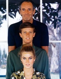 Henry, Peter and Jane Fonda, early 60's.