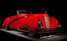 1937 Cadillac V16 Hartmann Roadster