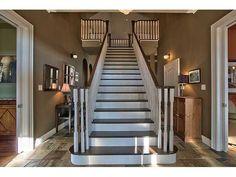 Fabulous Carlisle Ontario Custom Home  www.CarmineSturino.com Carlisle Homes, Luxury Real Estate, Custom Homes, Ontario, Stairs, Yard, Canada, Home Decor, Stairway