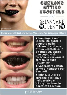How to Use Vegetable Activated Carbon for White Teeth - Be .- Come Usare il Carbone Attivo Vegetale per Denti Bianchi – Bellezza How to Use Plant Activated Carbon for White Teeth – Beauty - Beauty Secrets, Beauty Hacks, Just Natural Products, Skin Care Routine 30s, Skincare Routine, Best Skincare Products, Face And Body, Beauty Care, White Teeth