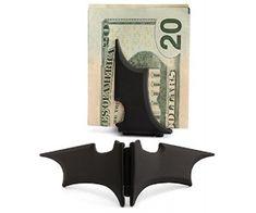 """""""Batarang"""" Money Clip @AwsomeGeekStuff"""
