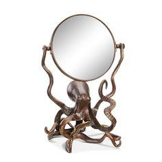 Octopus Vanity Mirror   Decor   SPI