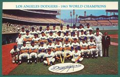 Dodgers de Los Angeles, Campeones  1963