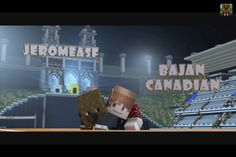 #merome!!!! Awwww Jerome: is a dirty stinkin axe lovin Baca. His main weapon is Betty (diamond axe) and is the Pope of Power Moves. (He is literally a beast)   Bajan: Lord of Time and king of the Hunger Games, Benja's main weapon is a diamond sword (I'm not sure what name he gave it yet) but sometimes gets the anti of Jerome's power moves (and by sometimes I mean a lot)  Together they are an unstoppable pair!