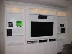 built in entertainment centers - Google Search