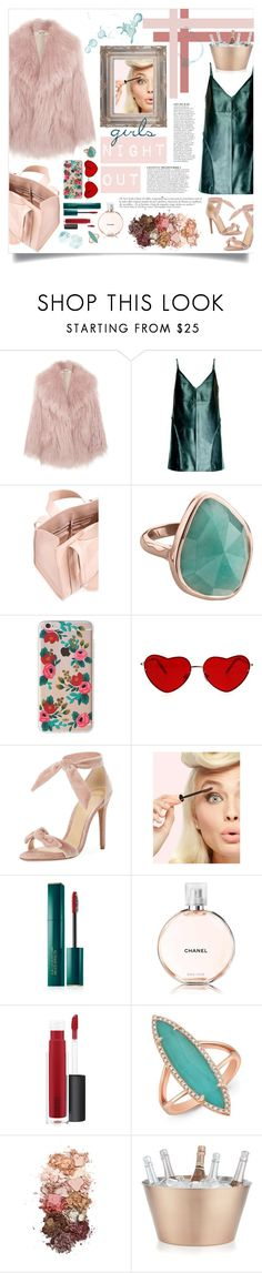 """Untitled #1"" by loudare ❤ liked on Polyvore featuring Miu Miu, Anja, Leka, Corto Moltedo, Monica Vinader, Rifle Paper Co, Alexandre Birman, Estée Lauder, Chanel and John Lewis"