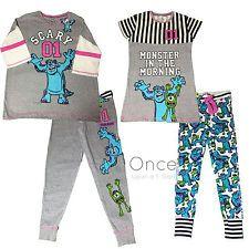 Primark Ladies Disney Pixar Monsters Inc Pyjama Pajama Pj Pieces Primark Pyjamas, Pajamas, Monsters Inc, Disney Pixar, Night Gown, Wetsuit, Pj, Lady, Swimwear