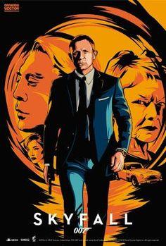 James Bond Movie Posters, James Bond Movies, Film Posters, Craig Bond, Daniel Craig James Bond, James Bond Skyfall, Bond Cars, Gentlemans Club, Alternative Movie Posters
