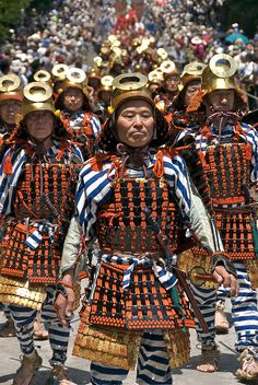 Samurai Parade, Nikko Spring Festival, Tochigi Prefecture, Japan