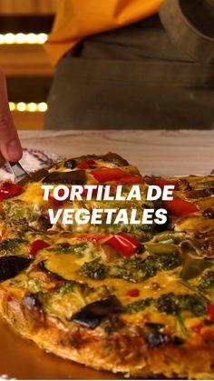 Raw Food Recipes, Mexican Food Recipes, Vegetarian Recipes, Cooking Recipes, Healthy Recipes, Comida Diy, Deli Food, Quiches, Food Videos