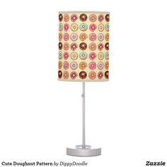Cute Doughnut Pattern Desk Lamp