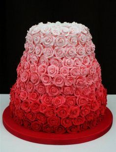 valentines day cake- I would love to be able to make this someday