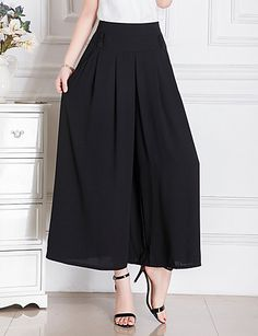 Yours Clothing Women/'s Plus Size Harem Pantaloni Geometrica