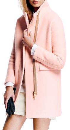"""Jeepers! What a gorgeous pink jacket! My favorite color! """"Pink is Rachel's favorite color"""" (Kingsolver 52)."""