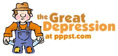 US History - The Great Depression - FREE presentations in PowerPoint format, interactive activities, lessons for K-12
