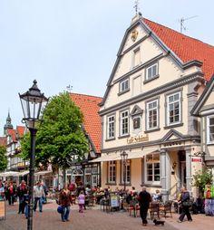 Café Schümli in Celle, Niedersachsen (Lower Saxony), Northern Germany
