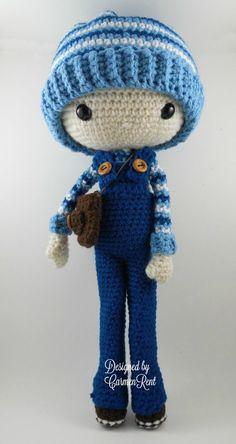 ❤ Oscar Amigurumi Doll Crochet Pattern PDF by CarmenRent on Etsy