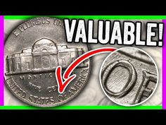 Check every 1964 nickel for these rare error coins worth money. Look for these collectible coins in your pocket change. Check out my other coin collecting vi. Valuable Pennies, Valuable Coins, Penny Values, Coin Jar, Rare Coins Worth Money, Coin Dealers, Coin Shop, Coin Design, Coin Worth