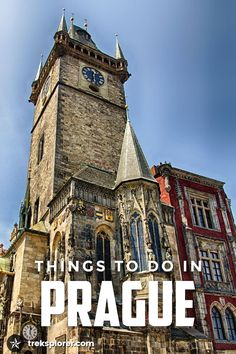 Need some ideas on what to do in Prague? Fill your days with some of these fun, interesting, weird and wacky things to do in Prague, Czech Republic.