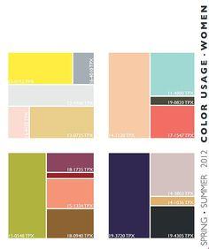 pattern design - color trends 2012 - womenswear-color-usage-66-lenzing:com