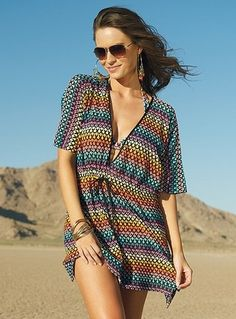 Cute bathing suit cover-up!