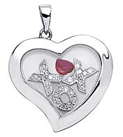 Locket with hugs & kisses  $120.00  jewelrygalorenmore.webs.com
