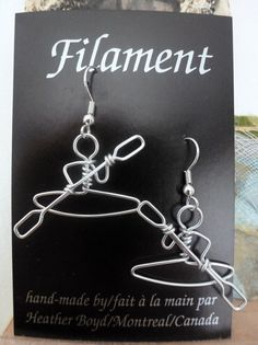 Kayak Earrings par heatherboyd sur Etsy, $14.00