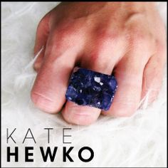70c4b54543e Kate Hewko Jewelry (Shown  Druzy Ring)